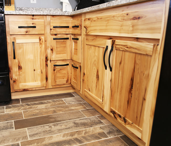 Forever Cabinets » Rustic Hickory Kitchen