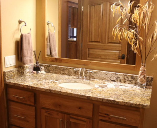 Rustic Hickory   Natural Stain