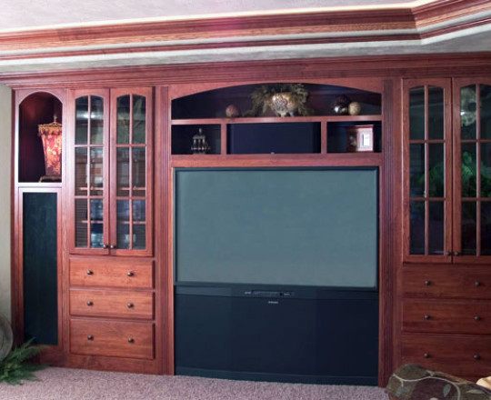 Martin Cherry Stain | Entertainment Center