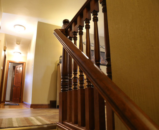 Recker Stain | Railing and Spindles