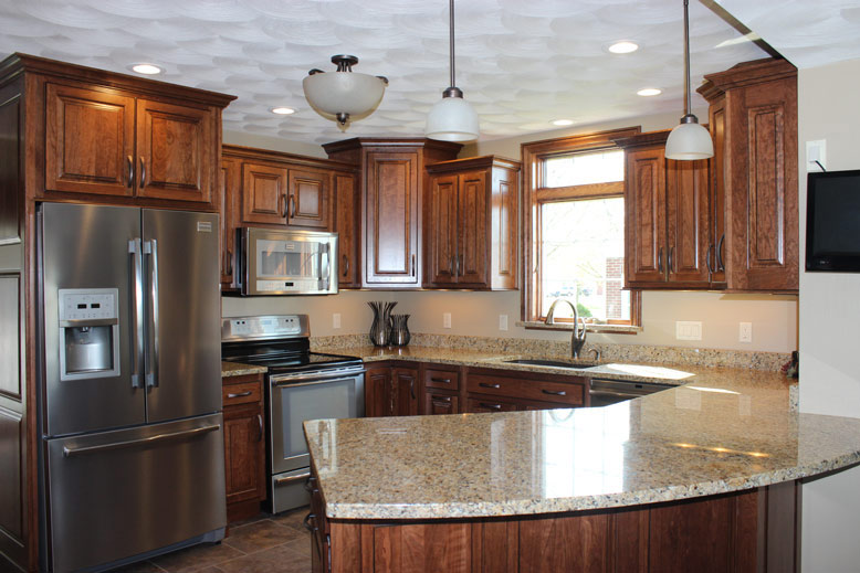gunstock kitchen cabinets