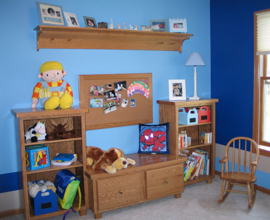 Cinnamon Stain | Children's Room Storage