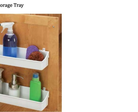 Door Storage Tray