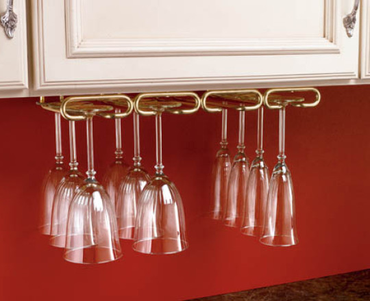 Under Cabinet Stemware Holder