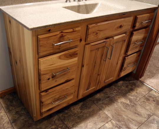 Rustic Hickory | Natural Finish
