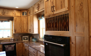 Room: Kitchen Species: Rustic Hickory Finish: Natural