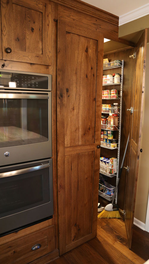 Forever Cabinets Rustic Hickory Kitchen